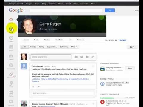 Google Plus High Quality Backlink Strategy