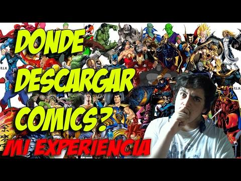 ¿Donde descargar comics en internert ?, mi experiencia.