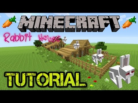 ✔️  MINECRAFT TUTORIAL: RABBIT HOUSE, TU31 (RABBIT HUTCH) PLUS RABBIT INFO