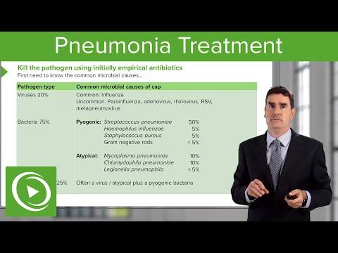 Pneumonia: Microbiology Tests & Treatment – Respiratory Medicine | Lecturio