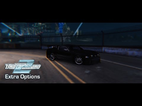 NFS Underground 2 - Extra Options (v3.0.1.1337) Update!
