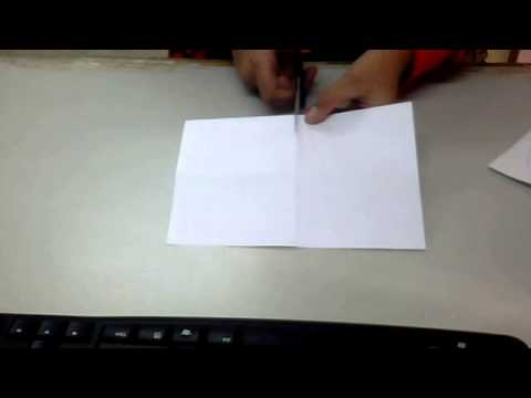 How to make a book from only one piece of paper