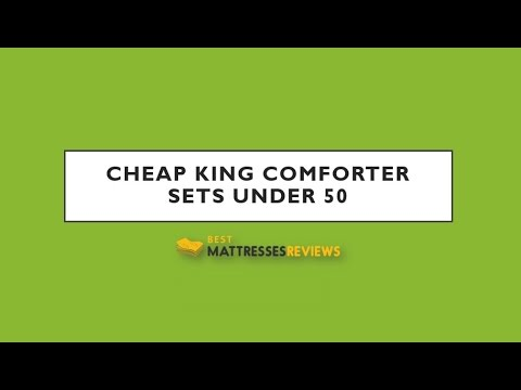 Cheap Comforter Sets Under 50 ► Best Mattresses Reviews