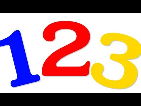 Ten Little Numbers | Numbers Song | Nursery Rhyme | Learn to Count
