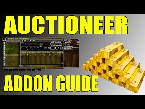 World of Warcraft How To Gold Making Auction House Auctioneer Addon