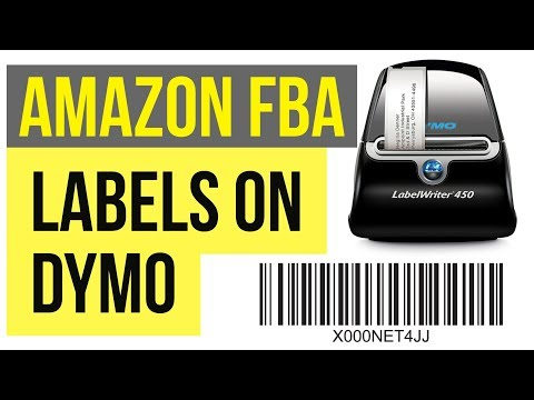 3 WAYS TO PRINT AMAZON FBA Labels / Stickers on DYMO or ZEBRA Thermal Printers