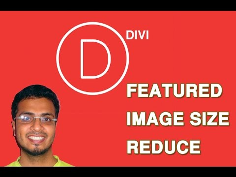 Divi featured image size reduce | How to change Divi Theme featured image size on category page