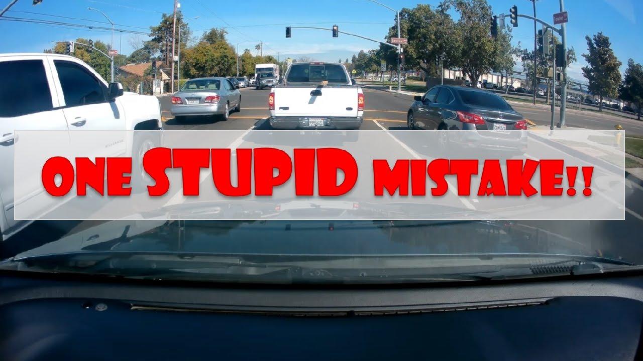 DMV Drive Test - ONE STUPID MISTAKE!