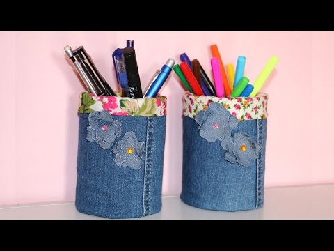 How to make your own Pen Holder | Pencil Holder DIY | Recycled Crafts Idea | Pen Holder from tin can