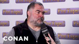 Tony The Cameraman Has Seen The Pee Tape  - CONAN on TBS