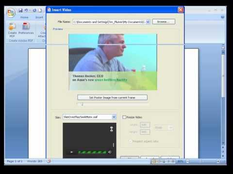 Adobe Acrobat 9 Tutorial: toevoegen van video aan PDF-documenten