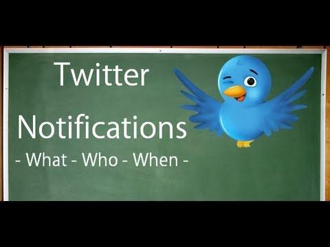 Twitter Notifications
