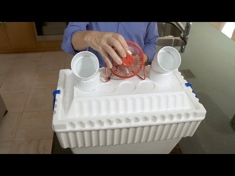 How to Make an $8 Air Conditioner