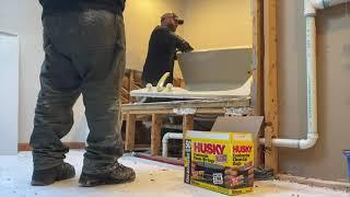 Master Bathroom Demo