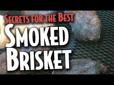 Smoking Awesome Briskets - Coach's BBQ