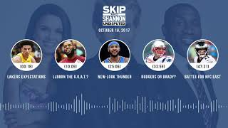 UNDISPUTED Audio Podcast (10.19.17) with Skip Bayless, Shannon Sharpe, Joy Taylor | UNDISPUTED