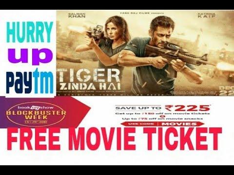FREE FREE FREE MOVIE TICKET OFFER || tiger zinda hai free booking