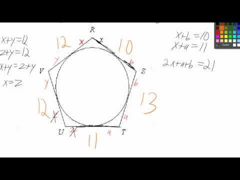 Circumscribed Pentagon exercise