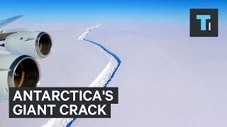 Scientists figured out why a giant crack in Antarctica is growing so fast