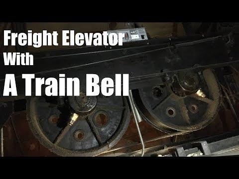 Epic Vintage Otis Freight Elevator #1 in Minneapolis