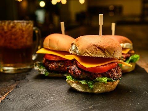 Smoky Pork & Bacon Burger Recipe   Traeger Grills