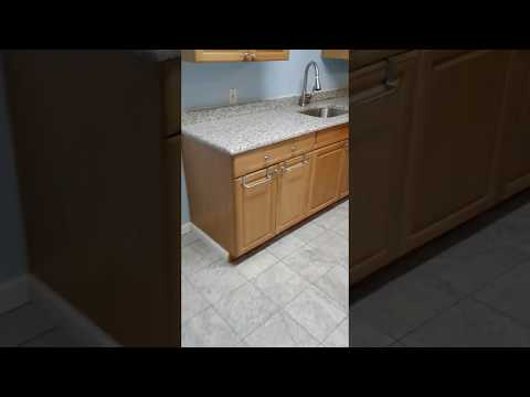 SERVPRO new kitchen counter top and Breakfast Bar Part 3, Water damage in Moorestown NJ,