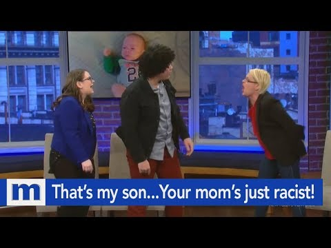 Xxx Mp4 That's My Son…Your Mom's Just Racist The Maury Show 3gp Sex