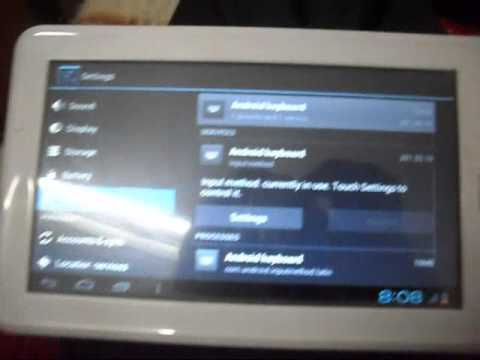How to Change Android Keyboard Settings in  Tablet