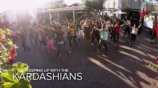 KUWTK   Kourtney & Khloé Kardashian Surprise Kim With a Flash Mob   E!