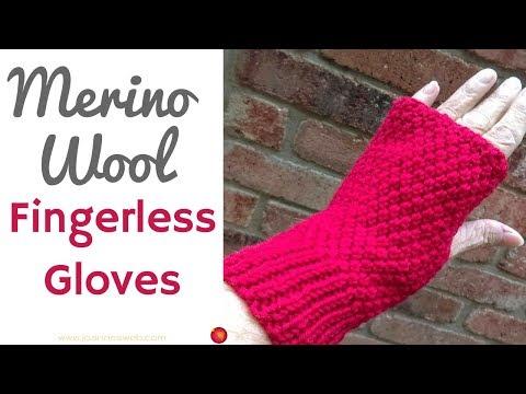 Merino Fingerless Gloves