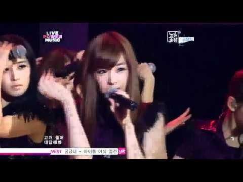 SNSD -  Run Devil Run live  [HD] [100905]