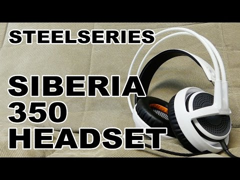 SteelSeries Siberia 350 Gaming Headset Review
