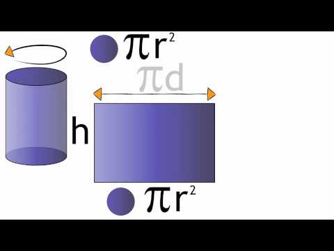 Surface Area of a Cylinder | Maths | The Fuse School