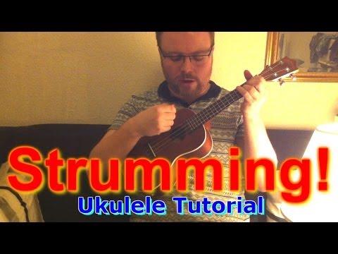 How to strum a ukulele!