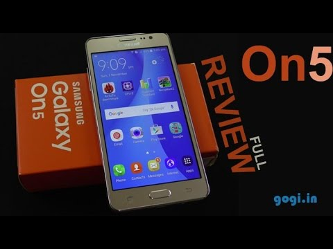 Samsung Galaxy On5 full review price - Rs. 8,990