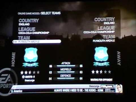 How to play FIFA online with your friends (PS3)