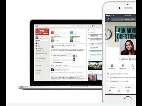 Facebook launches new app workplace