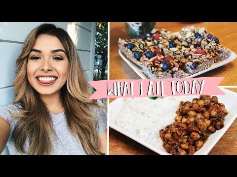WHAT I ATE TODAY | YUMMY VEGAN RECIPES 🌱