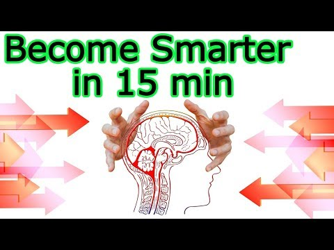 10 ideas how to make the brain smarter and sharp in 15 minutes  – How to boost brain power