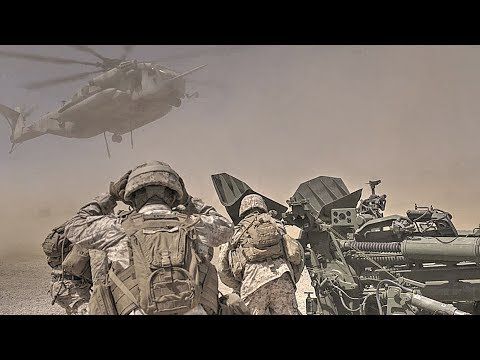 CH-53E Super Stallion Helicopter Lifting 10,000-pound Howitzer