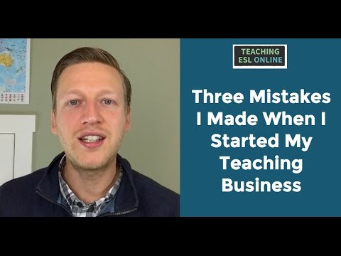 3 Mistakes I Made When I Started Teaching Online (And What to Do Instead)