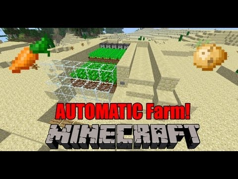 Minecraft - Carrot and Potato Automatic Farm