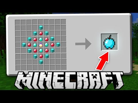 WHAT IF THERE WERE BIGGER CRAFTING TABLES IN MINECRAFT!