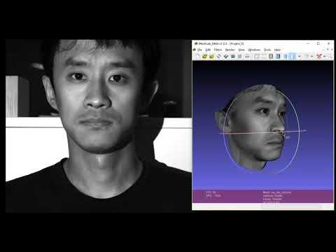 3D  Face Reconstruction using Structure Light Scanner