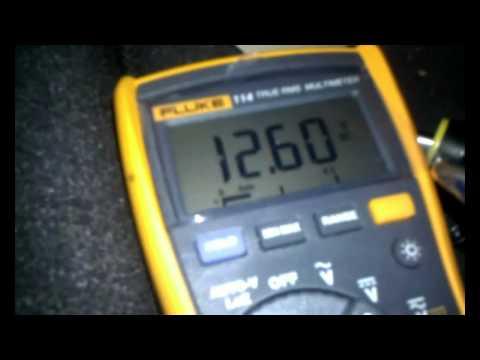 Car alarm wire testing