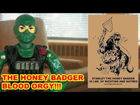 Honey Badger Blood Orgy (Meet Stanley The Honey Badger)
