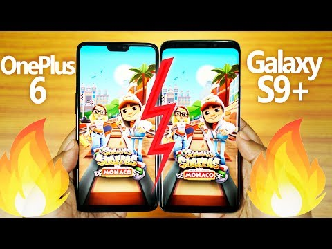 OnePlus 6 vs Galaxy S9+ Plus - SPEED TEST! & RAM Management [SURPRISING END]🔥