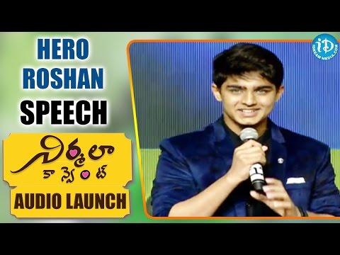 Xxx Mp4 Hero Roshan Speech Nirmala Convent Nagarjuna Roshan Meka Shriya Sharma 3gp Sex