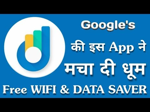 Google New Application For Free WiFi & Save Internet Data | Datally | By Online Tricks And Offers.