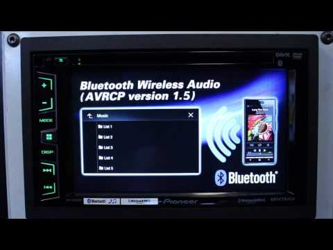 How to turn off demo mode on your Pioneer touch screen radio